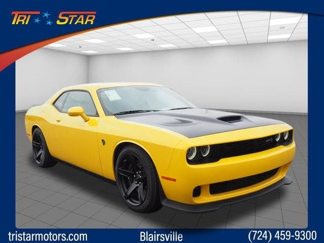 New 2018 Dodge Challenger Srt Hellcat 2dr Car In Indiana 18c1492