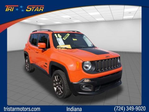 Pre-Owned 2016 Jeep Renegade 75th Anniversary Edition
